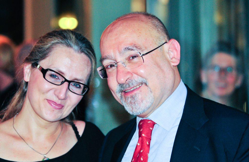 Anna Radziejewska i Salvatore Sciarrino. Zdjęcie: Ch. Oswald