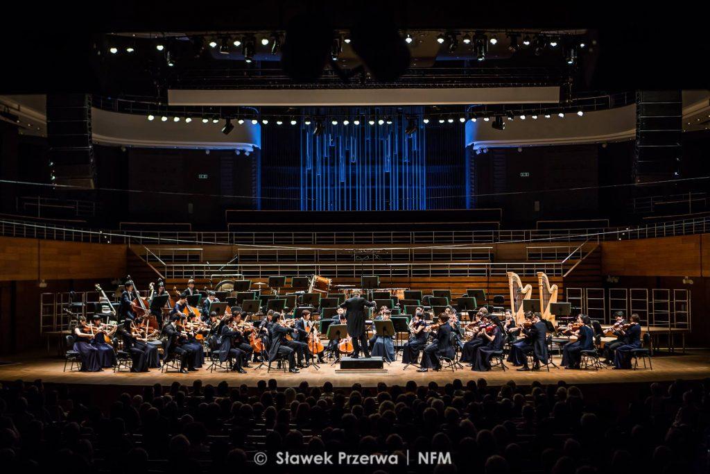 Tokyo Symhpony Orchestra. Zdjęcie: Sławek Przerwa/NFM